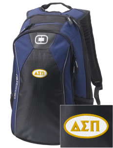 Delta Sigma Pi Embroidered OGIO Marshall Backpack