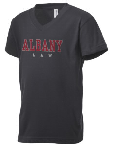 Albany Law School of Union University University Kid's V-Neck Jersey T-Shirt