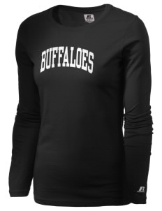 Arkansas Baptist College Buffaloes  Russell Women's Long Sleeve Campus T-Shirt