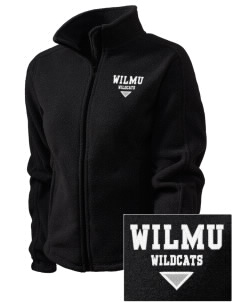 Wilmington University Wildcats Embroidered Women's Fleece Full-Zip Jacket