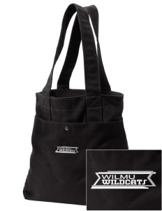 Wilmington University Wildcats Embroidered Alternative The Berkeley Tote