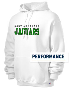 East Arkansas Community College Jaguars Russell Men's Dri-Power Hooded Sweatshirt