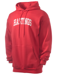 Hastings College Broncos Men's 7.8 oz Lightweight Hooded Sweatshirt