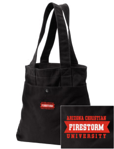 Arizona Christian University Firestorm Embroidered Alternative The Berkeley Tote
