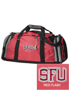 Saint Francis University Red Flash Embroidered OGIO All Terrain Duffel