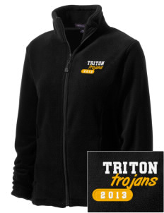 Triton College Trojans Embroidered Women's Wintercept Fleece Full-Zip Jacket