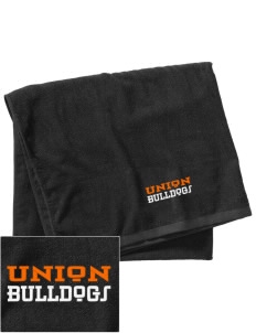 Union College  Bulldogs Embroidered Beach Towel