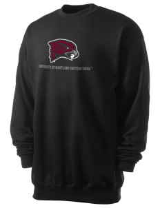 University of Maryland Eastern Shore Hawks Men's 7.8 oz Lightweight Crewneck Sweatshirt