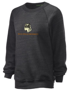 Walla Walla University Wolves Unisex Alternative Eco-Fleece Raglan Sweatshirt