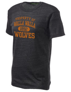 Walla Walla University Wolves Alternative Unisex Eco Heather T-Shirt