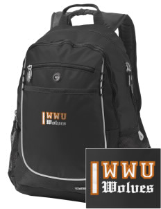 Walla Walla University Wolves Embroidered OGIO Carbon Backpack