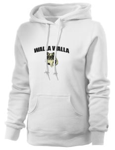 Walla Walla University Wolves Russell Women's Pro Cotton Fleece Hooded Sweatshirt