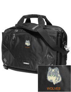 Walla Walla University Wolves Embroidered OGIO Corporate City Corp Messenger Bag