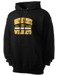 Wayne State College Wildcats Men's 7.8 oz Lightweight Hooded Sweatshirt