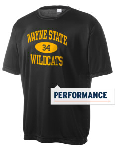 Wayne State College Wildcats Men's Competitor Performance T-Shirt