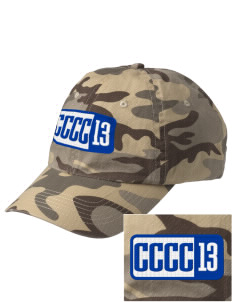Central Carolina Community College  Cougars Embroidered Camouflage Cotton Cap