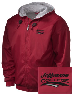 Jefferson Medical College College Embroidered Holloway Men's Hooded Jacket