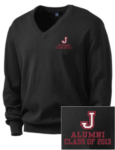 Jefferson Medical College College Embroidered Men's V-Neck Sweater