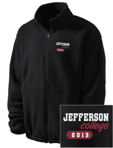 Jefferson Medical College College Embroidered Men's Fleece Jacket