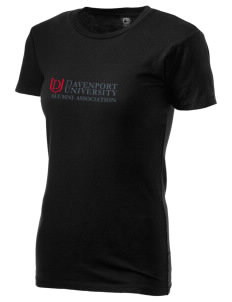 Davenport University Panthers Alternative Women's Basic Crew T-Shirt