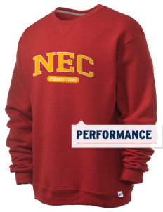 New England Conservatory of Music Penguins  Russell Men's Dri-Power Crewneck Sweatshirt