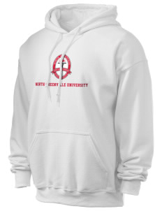 North Greenville University Crusaders Ultra Blend 50/50 Hooded Sweatshirt