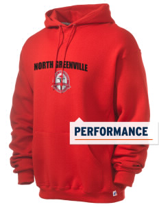 North Greenville University Crusaders Russell Men's Dri-Power Hooded Sweatshirt