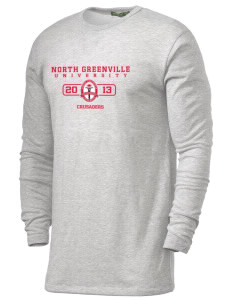 North Greenville University Crusaders Alternative Men's 4.4 oz. Long-Sleeve T-Shirt