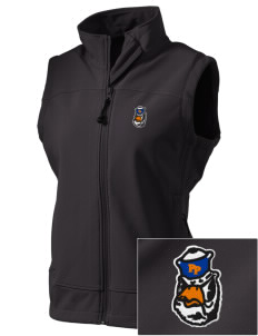 Pomona-Pitzer Athletics Sagehens  Embroidered Women's Glacier Soft Shell Vest