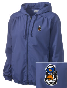 Pomona-Pitzer Athletics Sagehens Embroidered Women's Hooded Essential Jacket