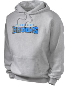 Piedmont International University BRUINS Men's Hooded Sweatshirt