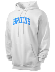 Piedmont International University BRUINS Men's 7.8 oz Lightweight Hooded Sweatshirt