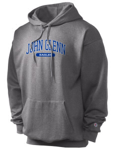 John Glenn High School Eagles Champion Men's Hooded Sweatshirt