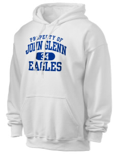 John Glenn High School Eagles Ultra Blend 50/50 Hooded Sweatshirt