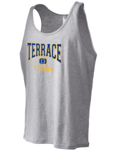 Terrace Elementary School Tigers Men's Jersey Tank