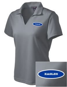 Santa Ynez Valley Christian Academy Eagles Embroidered Women's Dri Mesh Polo