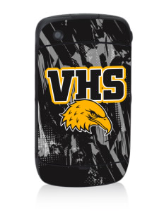 Vista High School Eagles Black Berry 8530 Curve Skin