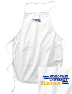 Angelo State University Rams Embroidered Full Length Apron