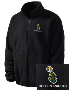 Clarkson University Golden Knights Embroidered Men's Fleece Jacket
