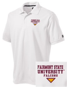 Fairmont State University Falcons Embroidered OGIO Men's Caliber Polo