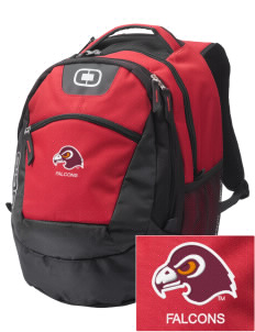 Fairmont State University Falcons Embroidered OGIO Rogue Backpack