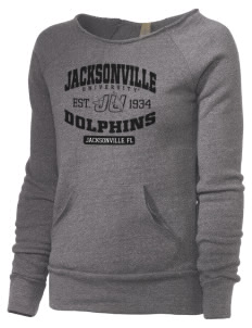 Jacksonville University Dolphins Alternative Women's Maniac Sweatshirt