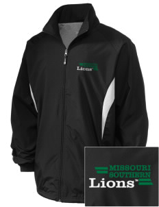 Missouri Southern State University Lions Embroidered Holloway Men's Full-Zip Jacket