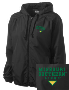 Missouri Southern State University Lions Embroidered Women's Hooded Essential Jacket