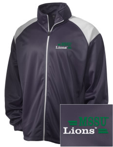 Missouri Southern State University Lions Embroidered Men's Tricot Track Jacket
