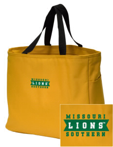 Missouri Southern State University Lions Embroidered Essential Tote