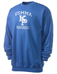 United States Merchant Marine Academy Mariners Men's 7.8 oz Lightweight Crewneck Sweatshirt
