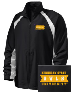 Kennesaw State University Owls  Embroidered Men's Full Zip Warm Up Jacket