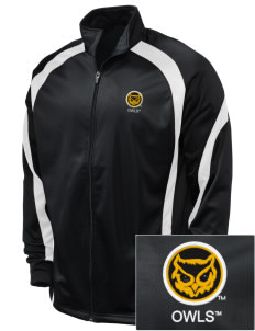 Kennesaw State University Owls Embroidered Holloway Men's Tricotex Warm Up Jacket