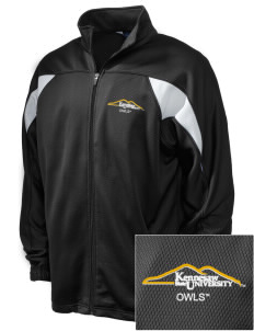 Kennesaw State University Owls Embroidered Holloway Men's Full-Zip Track Jacket